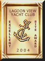 Lagoon View Yacht Club Gold Excellent Site Award