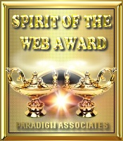 Paradigm Associates' Spirit of the Web Gold Award