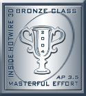 Inside Hotwire 3D Bronze Award