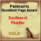 Peenmarric Rexcellent Page Gold Award