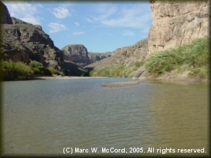 Boquillas Canyon on the Rio Grande