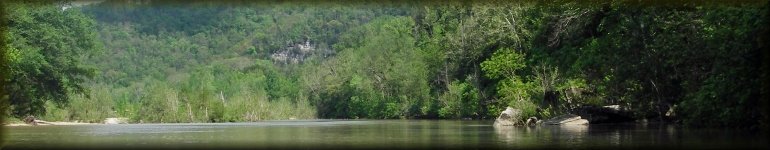 Buffalo National River in spring