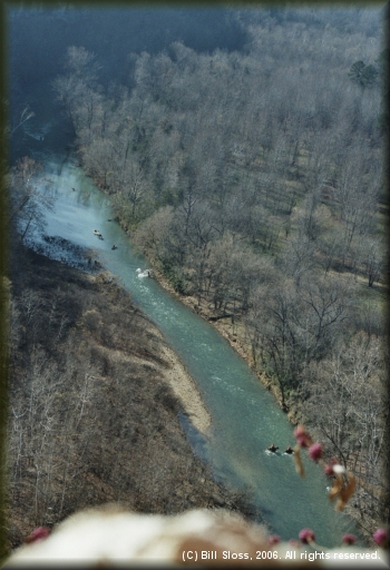 Upper Buffalo National River from Goat Trail