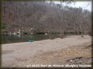 Caddo River Camping & Canoe Rental landing off SH 8 above SH 240