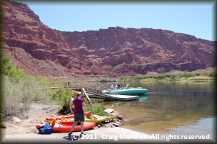 Lee's Ferry on the Colorado River