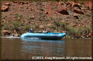 Jetboat ride upriver to Glen Canyon Dam