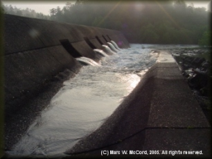 Re-Regulation Dam at Mountain Fork Park