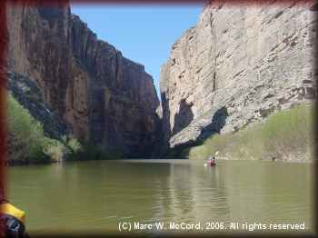 Exiting Santa Elena Canyon