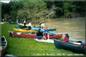 DDRC group at Guadalupe River State Park