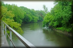 Verdigris River near Coffeyville, Kansas
